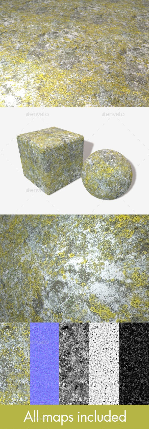 Concrete Mould Seamless Texture - 3DOcean Item for Sale
