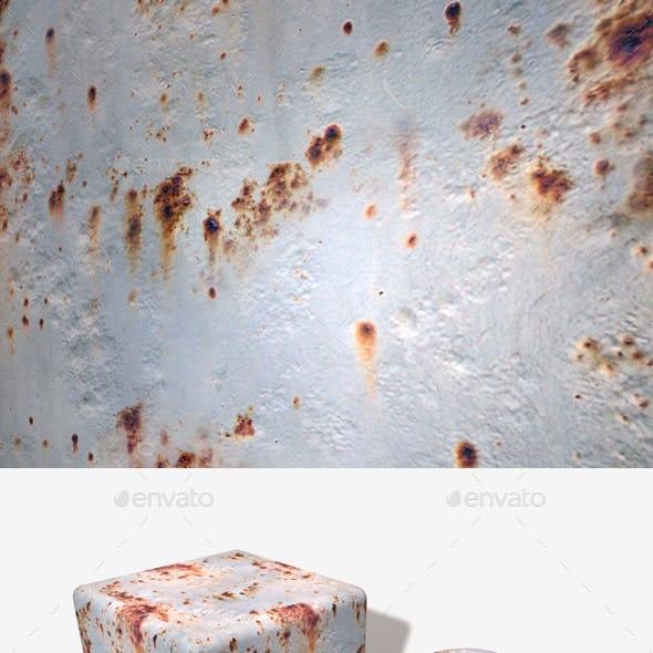 Rusty Painted Metal Seamless Texture