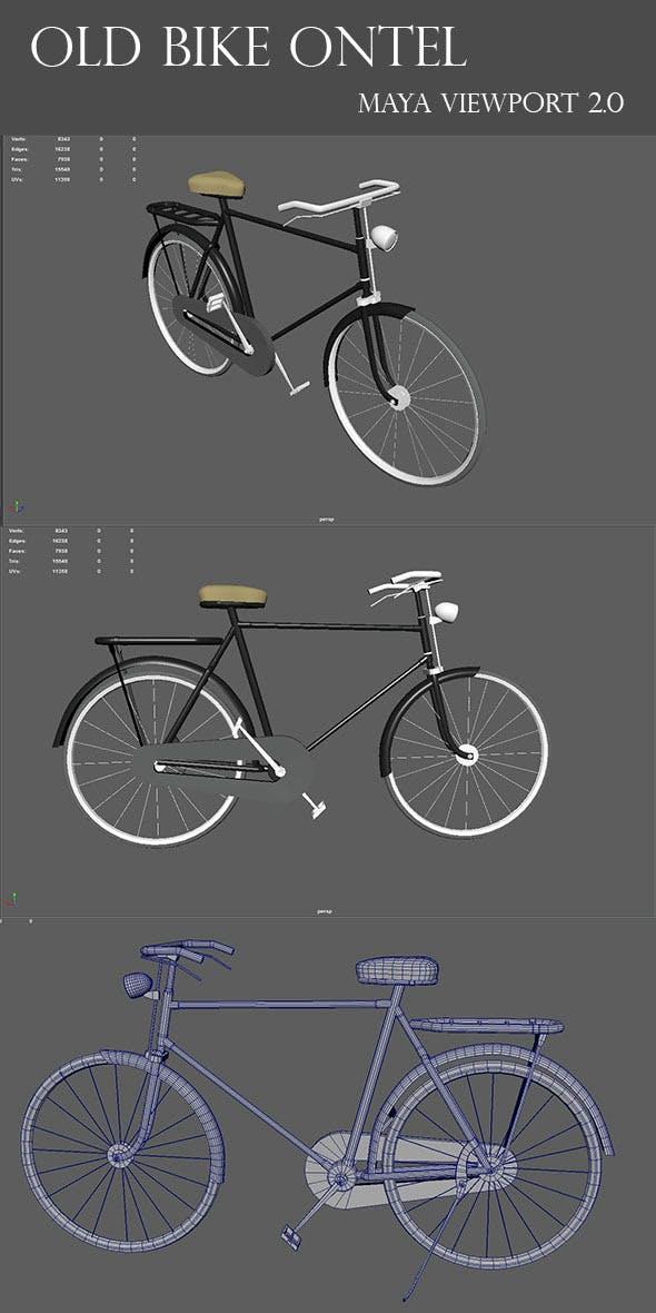 Old Bicycle Ontel - 3DOcean Item for Sale