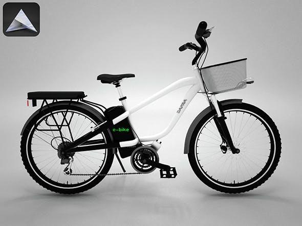 Electric Bike - 3DOcean Item for Sale