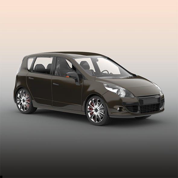 Hatchback car - 3DOcean Item for Sale