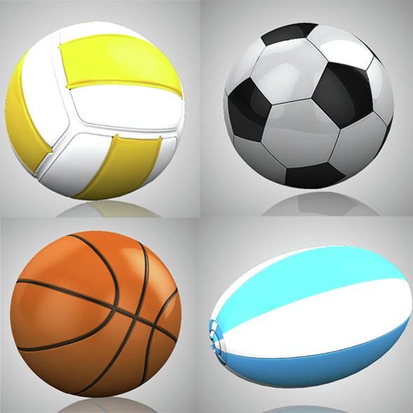 3d Motiongraphics Elements [Sports set] - 3DOcean Item for Sale