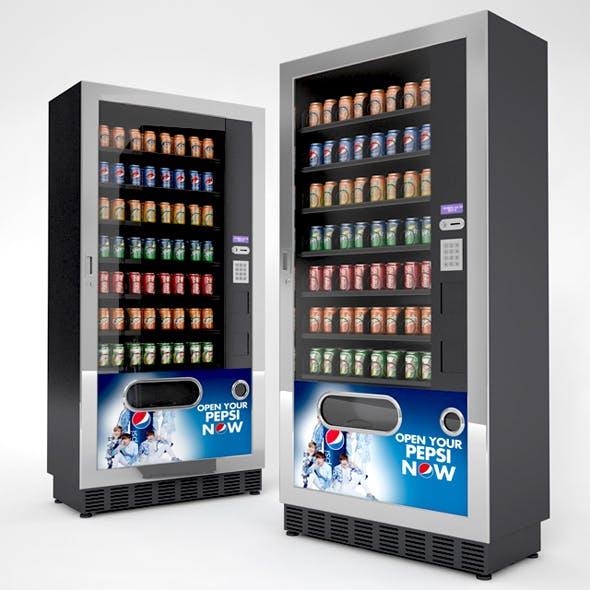 Beverage Vending Machines - 3DOcean Item for Sale