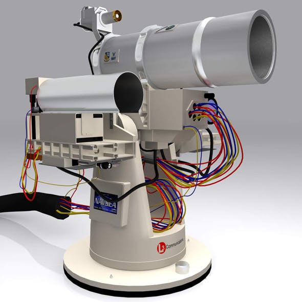 Laser Weapon System US Navy's  - 3DOcean Item for Sale