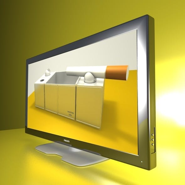 3D TV chrome