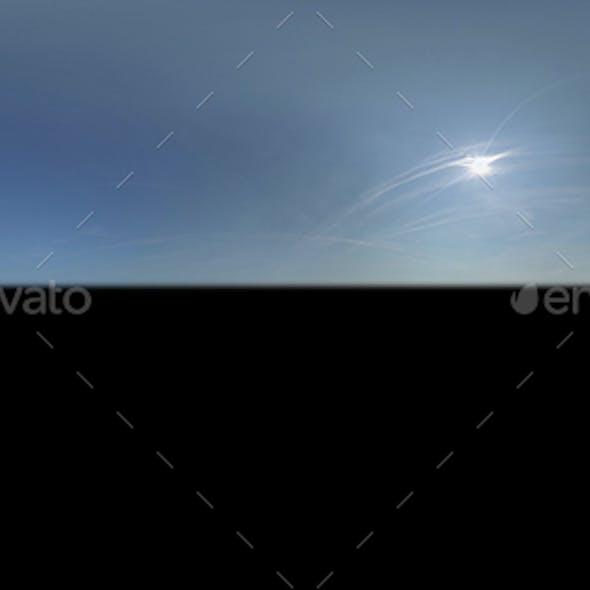 Clear Blue Sunny Sky Texture 003