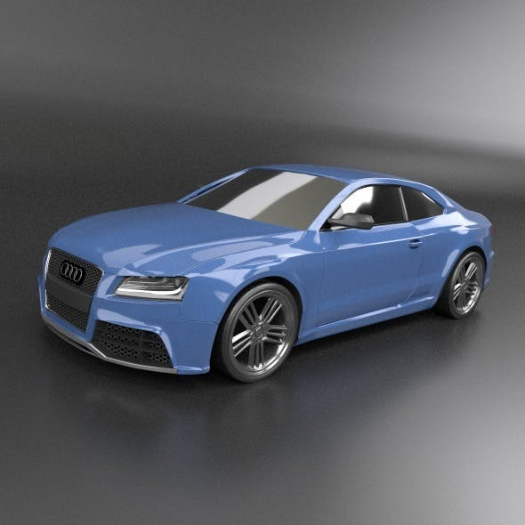 Audi RS5 2011 sports car redesign - 3DOcean Item for Sale