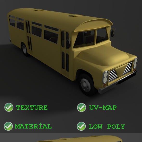Old bus incasel 1961