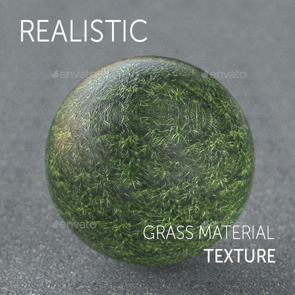 Grass realistic texture