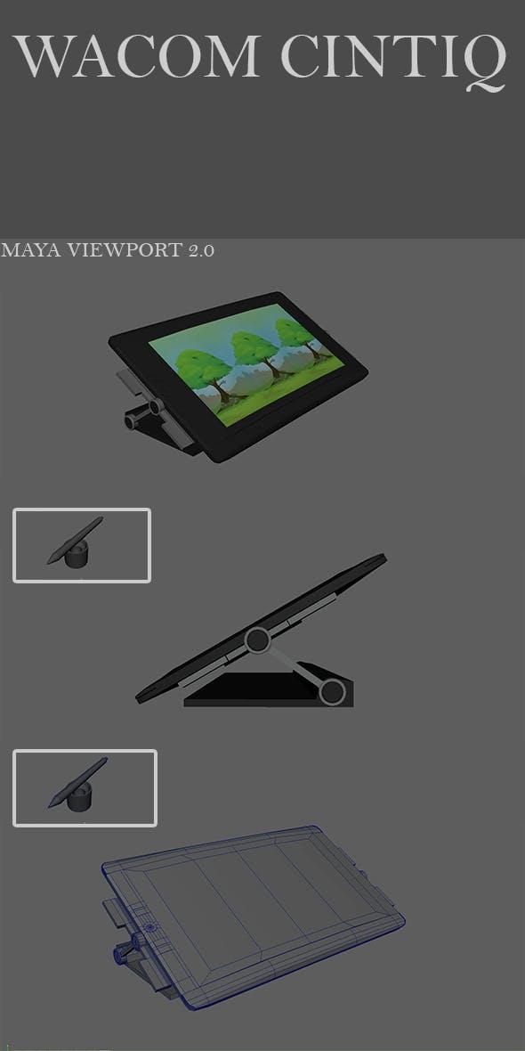 Wacom Cintiq - 3DOcean Item for Sale