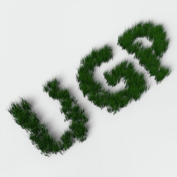 3D Shrub & Grass Models from 3DOcean