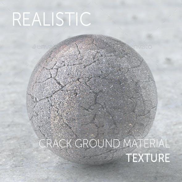 Crack ground realistic texture