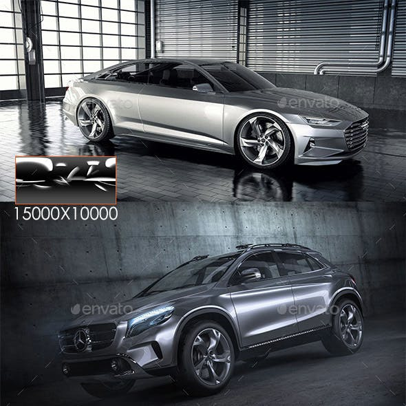 High Gloss Automotive  - 3DOcean Item for Sale