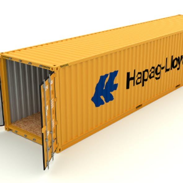 Shipping container Hapag LLoyd
