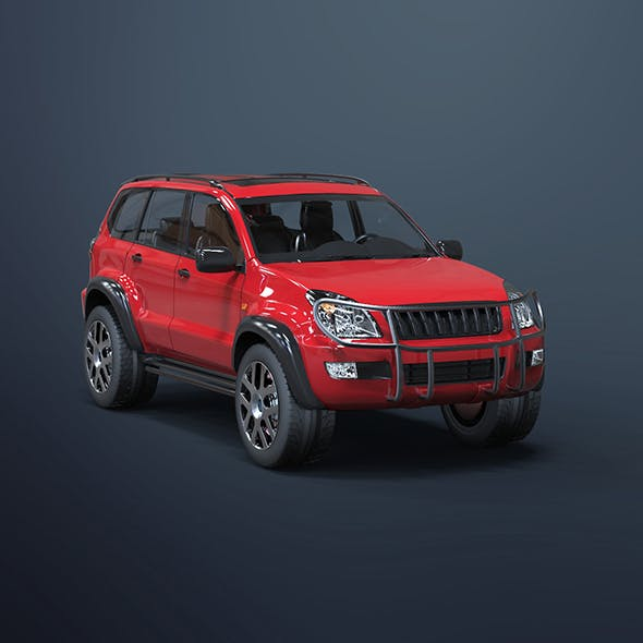 Off road Car - 3DOcean Item for Sale