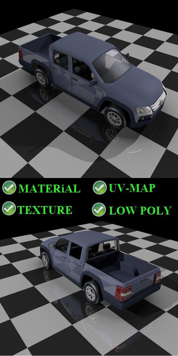 Amarok pickup - 3DOcean Item for Sale