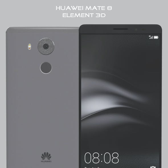 Element 3D Huawei Mate 8