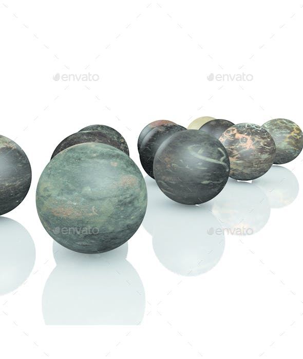 12 Flat metal texture pack - 3DOcean Item for Sale