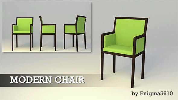 Fashionable Armchair - 3DOcean Item for Sale