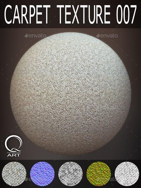 Carpet Textures 007 - 3DOcean Item for Sale
