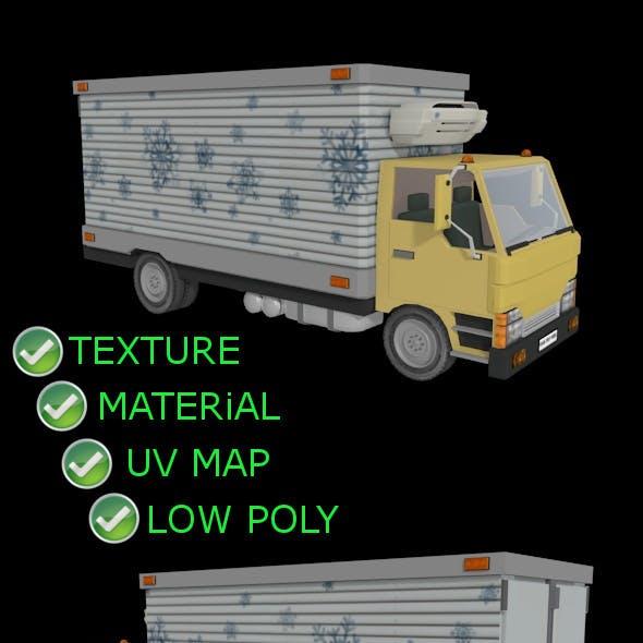 Refrigetad Cargo Truck