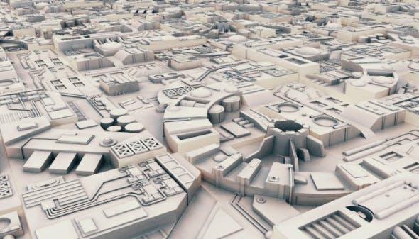 Sci-Fi Landscape Construction Kit - 3DOcean Item for Sale
