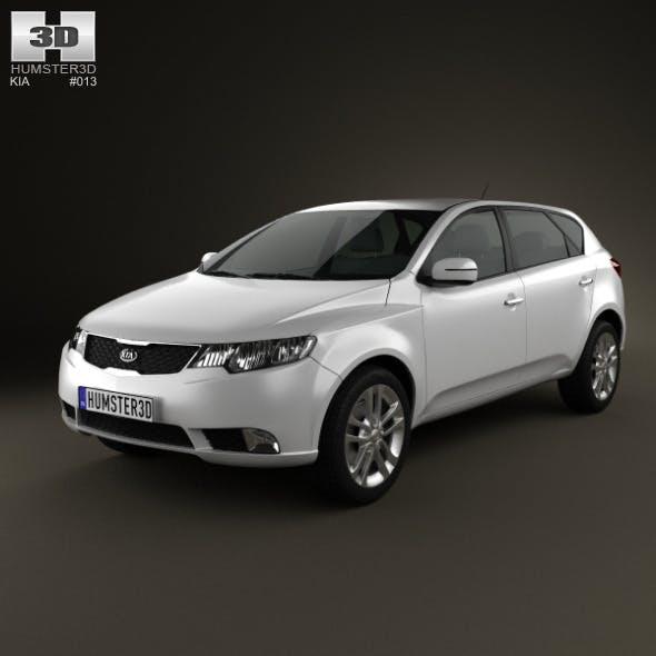 Kia Forte (Cerato, Naza) hatchback 5-door 2012 - 3DOcean Item for Sale