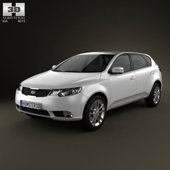 Kia Forte (Cerato, Naza) hatchback 5-door 2012