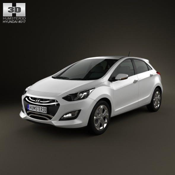 Hyundai i30 (Elantra Touring) hatchback 2013