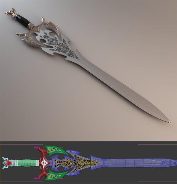 Sword of Darkness - 3DOcean Item for Sale