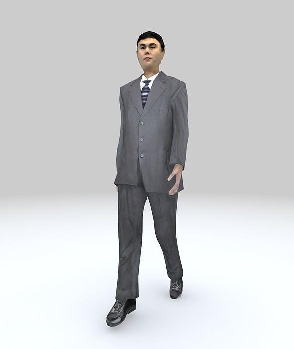 LOWPOLY MAN WALK - 3DOcean Item for Sale