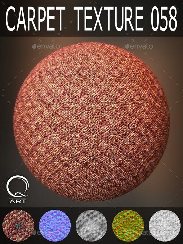 Carpet Textures 058 - 3DOcean Item for Sale
