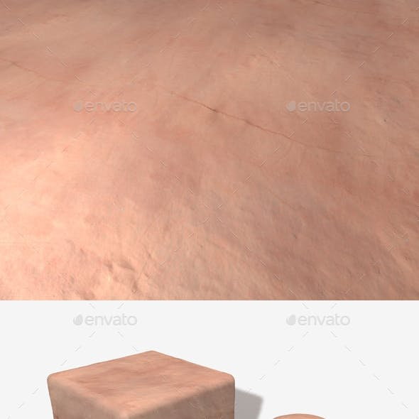 Cracked Plastered Wall Seamless Texture