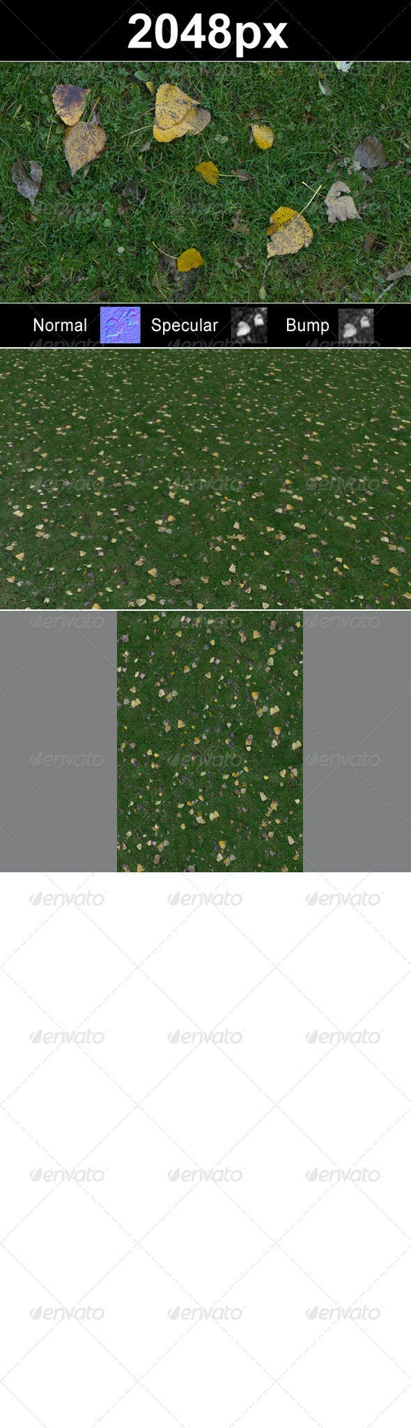 Lawn 2 with leaves - 3DOcean Item for Sale