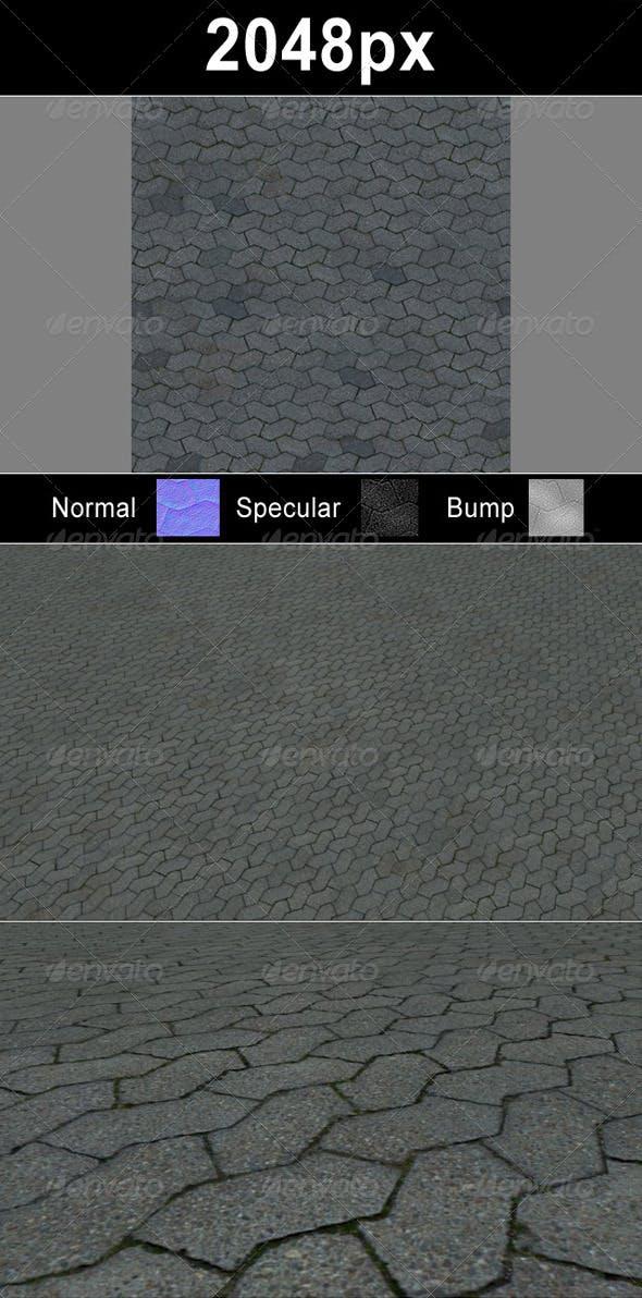 Paver Blocks 4 Set - 3DOcean Item for Sale
