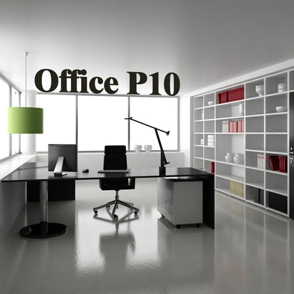 Office set p10 - 3DOcean Item for Sale