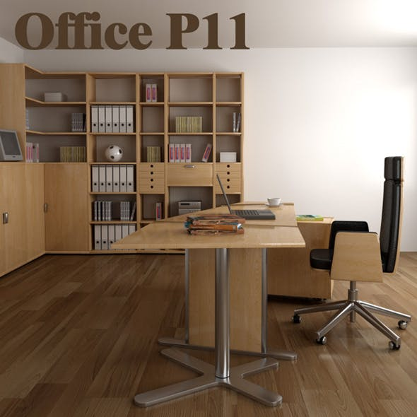 Office set p11 - 3DOcean Item for Sale