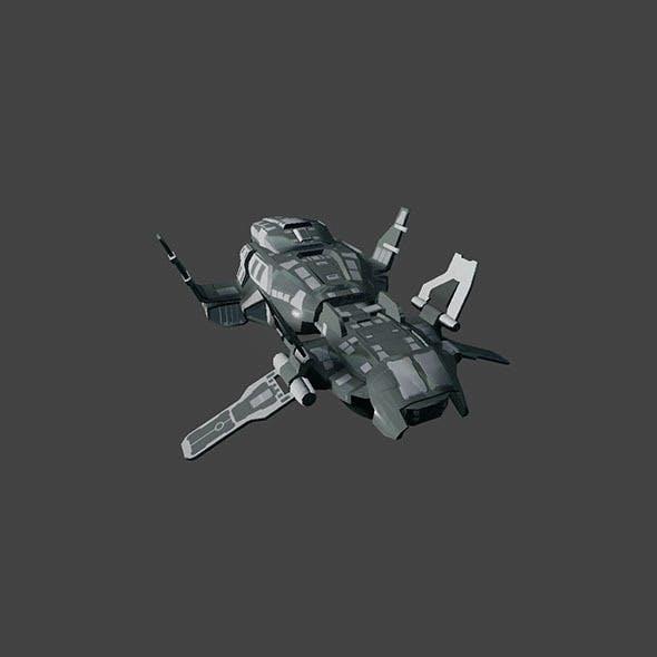 SciFi Spaceship_Bomber - 3DOcean Item for Sale