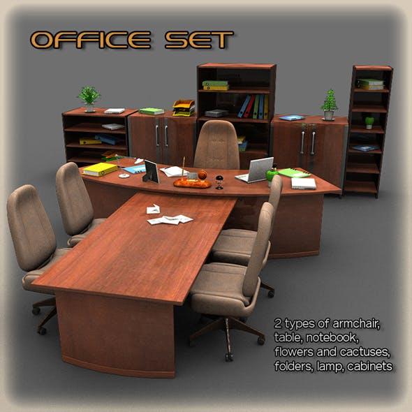 Office Set 2 - 3DOcean Item for Sale