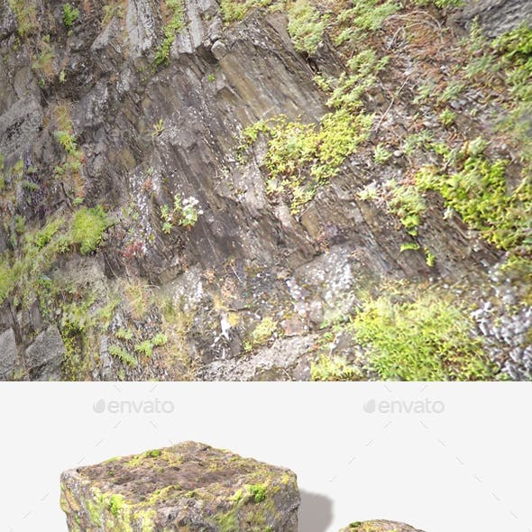Angled Cliff Face 02 Seamless Texture