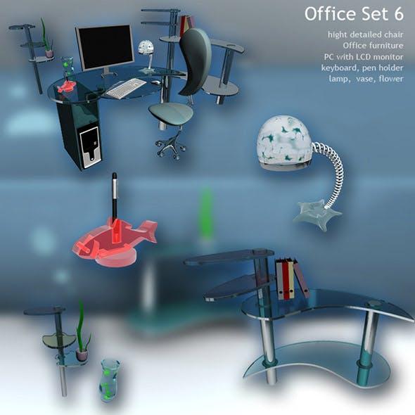 Office Set 6 - 3DOcean Item for Sale