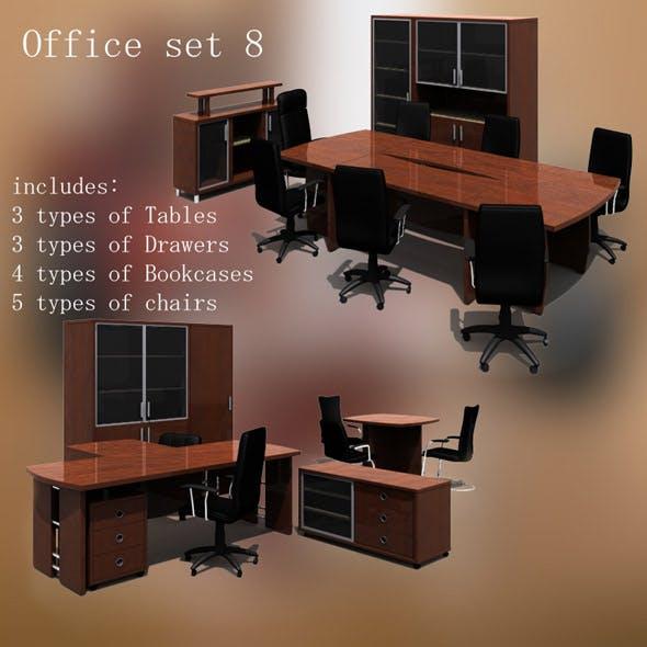 Office set 8 - 3DOcean Item for Sale