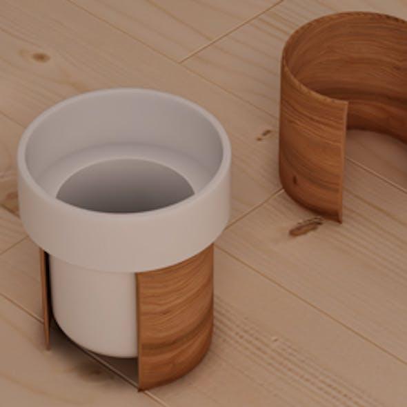 Tonfisk Warm Cup 3d Model