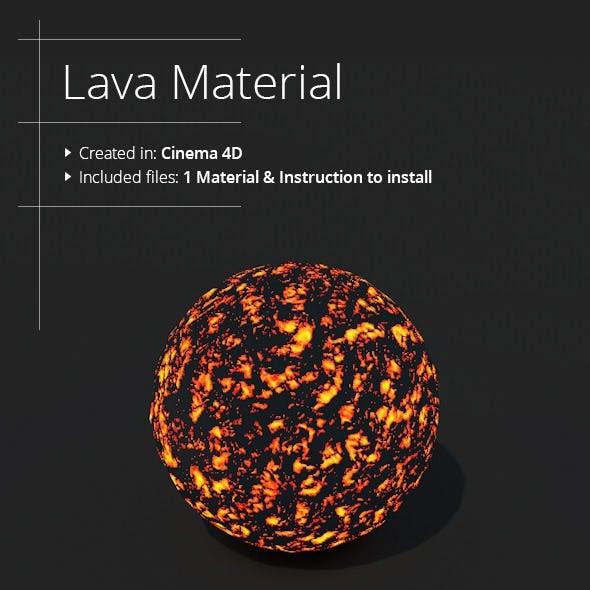 Lava Material