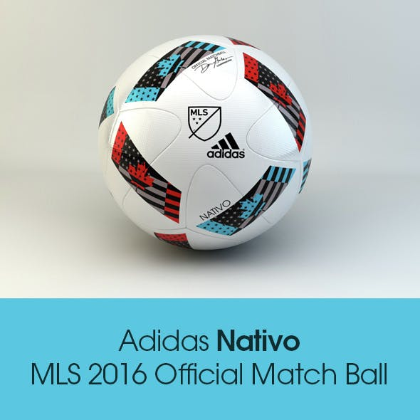 Adidas Nativo MLS 2016 Official Match Ball
