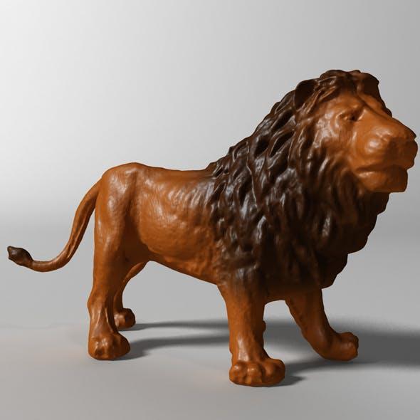Lion 3d scanned - 3DOcean Item for Sale