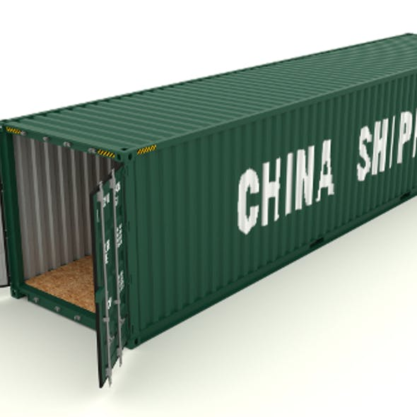 Shipping container China Shipping