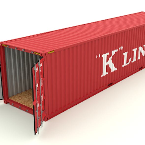Shipping container K Line