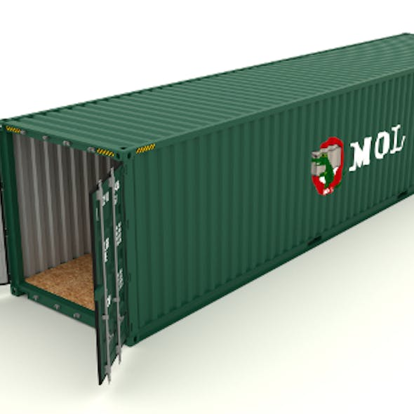 Shipping container MOL