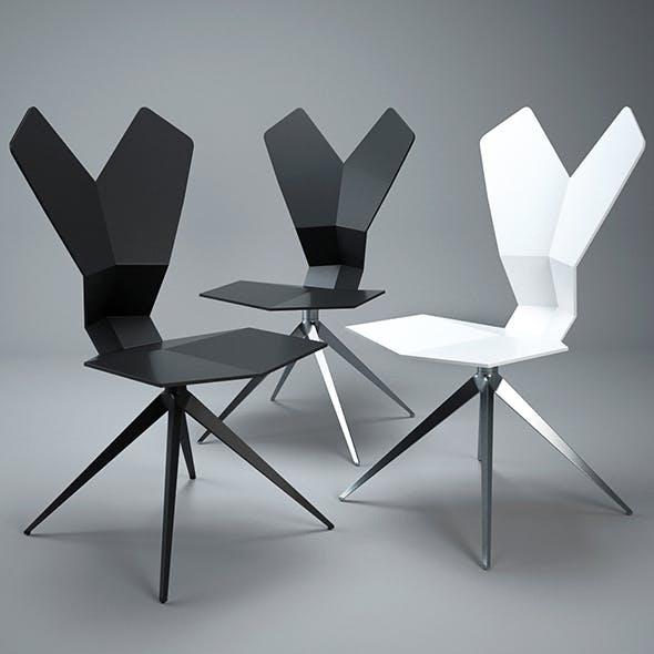 Tom Dixon Y CHAIR - 3DOcean Item for Sale